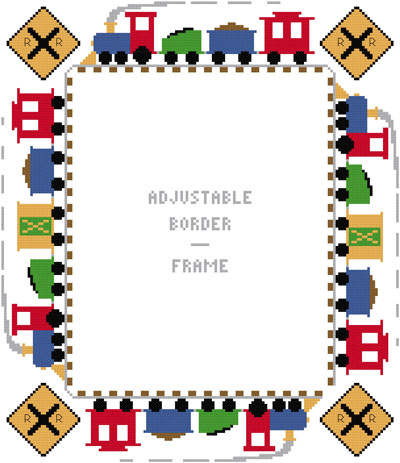 Train Page Border train page border large bordersframe adj clipart ...