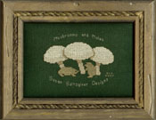 Mushrooms and Moles logo - by Susan Saltzgiver Designs